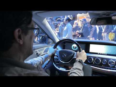CES 2017 Mercedes Fit & Healthy - Zwei Mann, ein Auto | auto motor und sport