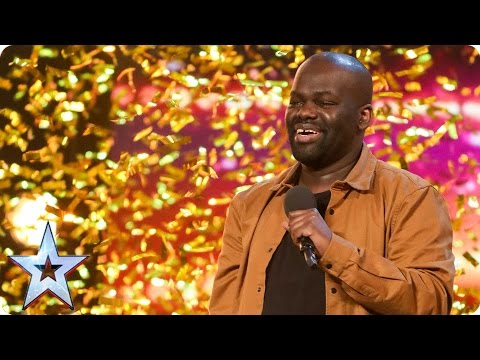 Daliso Chaponda gives Amanda the golden giggles | Auditions Week 3 | Britain's Got Talent 2017