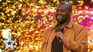 Video Daliso Chaponda gives Amanda the golden giggles | Auditions Week 3 | Britain's Got Talent 2017 MP3, 3GP, MP4, WEBM, AVI, FLV April 2018