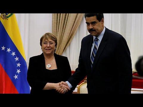 Στη Βενεζουέλα η Μισέλ Μπασελέ