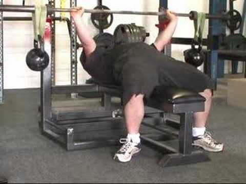 Muscle Pit – Exercises – Bench – Kettle Balls & Bands