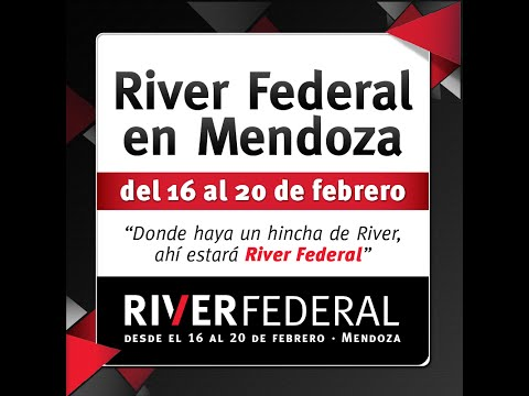 River Federal estará en Mendoza