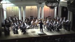 National Ukrainian Brass Orchestra. Drums Konstantyn Napolov