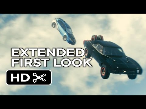 Furious 7 Official Extended First Look - Plane Drop (2015) - Paul Walker Movie HD thumbnail