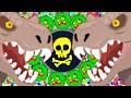 Agar.io Crazy Split Running Destroying Team Trick Split Cannon Ball! (Agario Best Moments)