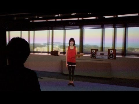 Visually and aurally accurate virtual communication system #DigInfo