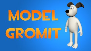 Part 2 of 2 in a series about 3d modeling a simple cartoon dog in Maya. In this particular example I've decided to model Gromit from the Wallace and Gromit film series.
