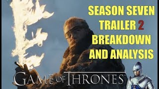 And the second Season 7 trailer is here. Chad gives his full analysis of everything you want to know and don't want to know about the upcoming season of Game of Thrones. #winterishereAlso check out Red Team Review's breakdown and analysis: https://www.youtube.com/watch?v=hHIELonvevg▬▬▬▬ Follow Me on Social Media! ▬▬▬▬https://www.facebook.com/prestonjacobssweetrobin/https://twitter.com/sweetrobin9000▬▬▬▬ Check Out These Videos! ▬▬▬▬The Purple Wedding: https://www.youtube.com/watch?v=tkIczwc7Hz8A Frey in the Snow: https://www.youtube.com/watch?v=_CaDHo9BsJI&The Deeper Dorne: https://www.youtube.com/watch?v=55N8Q6OINHg&t=1s