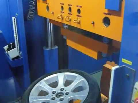 Проверка прочности диска WSP Italy W651 Ginevra на удар спицы (БМВ)