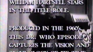This footage was taped prior to the airing of the first half of First Doctor story, The Chase, on Friday, May 9, 1986. For the first run of ...