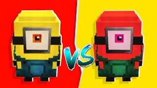 We Made THANOS MINIONS Fight In Minecraft Minion Maker | JeromeASF