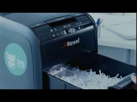 Rexel Auto Plus 80X 2103080 Aktenvernichter,Partikelschnitt 4 x 45mm, 85 Blatt