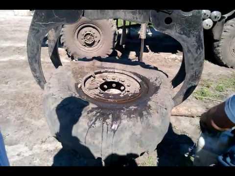 Как бортировать колесо на камазе 4310 фото