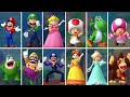 Mario Party 10  All Characters Gameplay Showcase