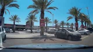 Ashdod Israel  city photos gallery : Driving in Israel. Ashdod. אשדוד. Ашдод