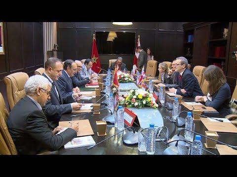 الحبيب المالكي يتباحث مع الأمين العام لوزارة الخارجية البريطانية
