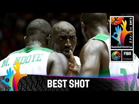 Shot - Watch the best shot by Gorgui Dieng against Puerto Rico. The 2014 FIBA Basketball World Cup will take place in Spain from 30 August - 14 September and will feature the best international players...