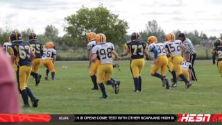 NCAFA 2K16 - MOSQUITO - Week 3 [ Bell Warriors VS West Carleton Wolverines
