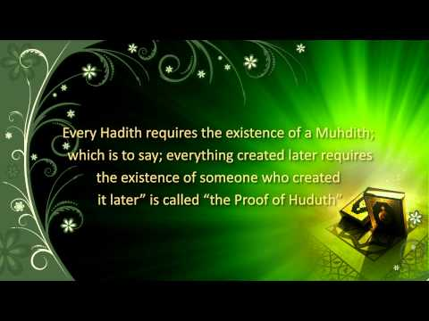 The Proofs of Creation – 3: The Proof of Huduth