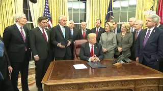 Video President Trump Signs the Interdict Act MP3, 3GP, MP4, WEBM, AVI, FLV Januari 2018