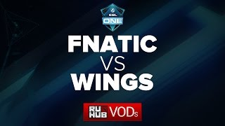 Fnatic vs Wings, game 1