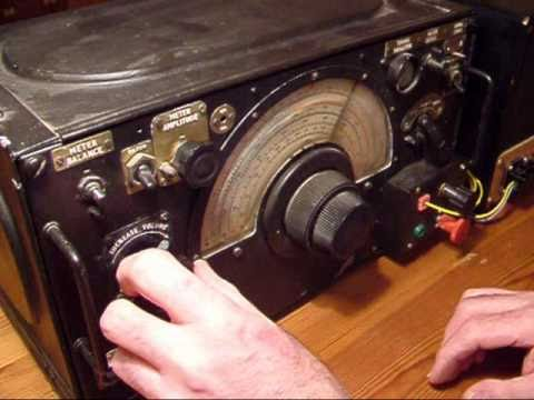 R1155 Radio as fitted into a Lancaster Bomber.
