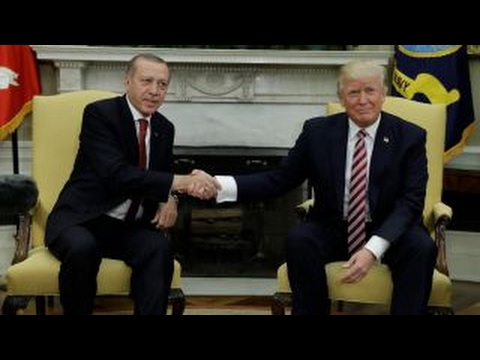Issues facing Trump and Erdogan in first White House meeting