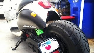 10. Installing Stretch Kit On A Honda Metropolitan