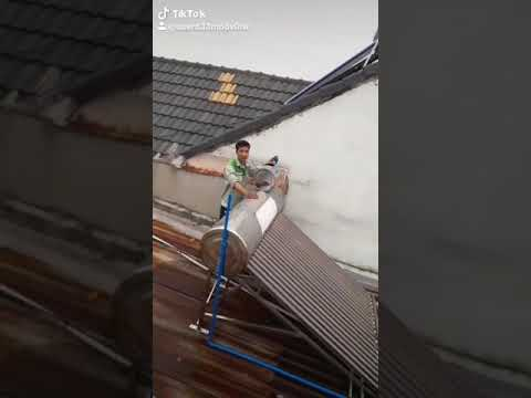 thi công máy năng lượng mặt trời