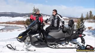 7. Présentation du Ski-Doo Grand Touring LE 900 ACE 2014