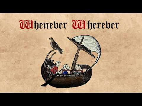 "Shakira  ""Whenever, Wherever"" Cover"