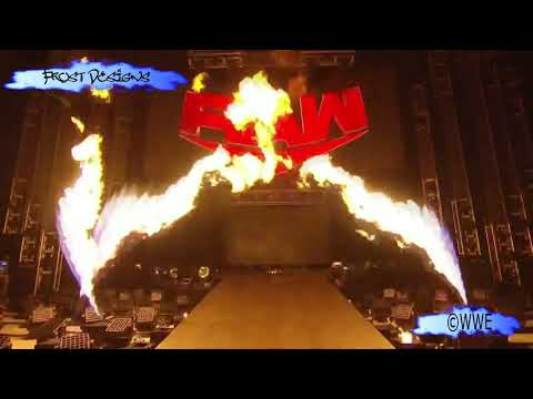 WWE RAW's First Pyro in The Thunderdome (RAW 24.08.2020 Pyro)