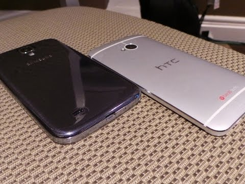 Samsung Galaxy S 4 vs. HTC One