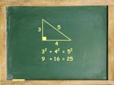 The Pythagorean Theorem Animation By Algebrafree Com Algebra Help Erli Oktafia Silitonga S