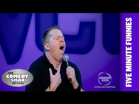 Gary Owen⎢Sweet potato pie is NOT Pumpkin pie⎢Shaq's Five Minute Funnies⎢Comedy Shaq