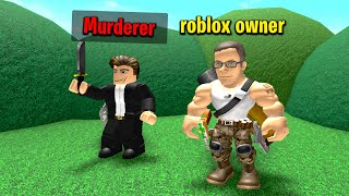 Roblox CEO Gives Everyone Murderer in Murder Mystery 2..