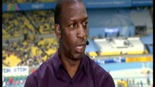 Usain Bolt (1st Round) Daegu 2011 + Michael Johnson Reaction
