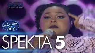 Video JOAN - COULD YOU BE LOVED (Bob Marley & The Wailers) - Spekta Show Top 10 - Indonesian Idol 2018 MP3, 3GP, MP4, WEBM, AVI, FLV Oktober 2018