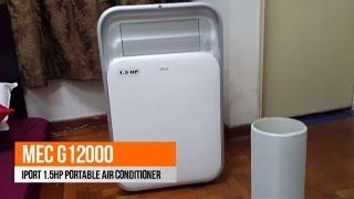 Video Unboxing MEC G12000 iPort 1 5HP Portable Air Conditioner MP3, 3GP, MP4, WEBM, AVI, FLV Juni 2018