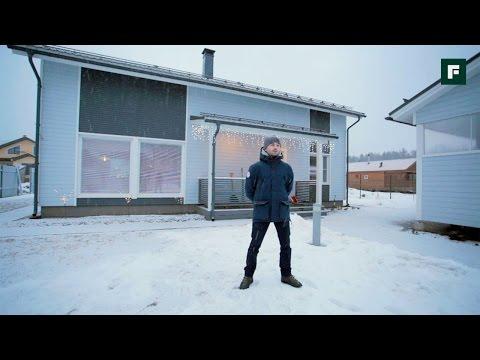 Каркасный дом по финской технологии под ПМЖ // FORUMHOUSE