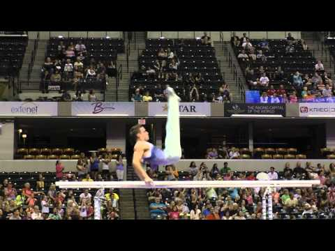 A Parallel Bars Routine Fit for a Champion