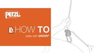 HOW TO belay with GRIGRI by Petzl Sport