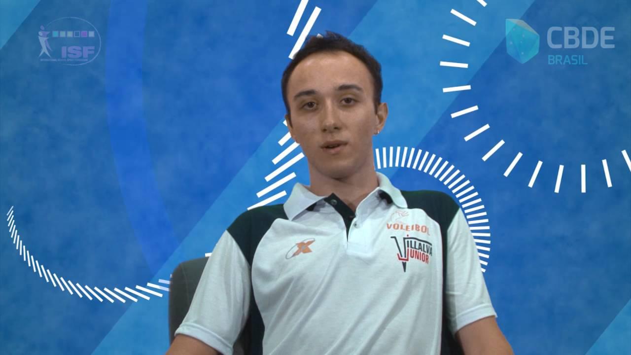 CBDE: Pedro Belizário Rocha - Mundial Escolar de Voleibol 2016