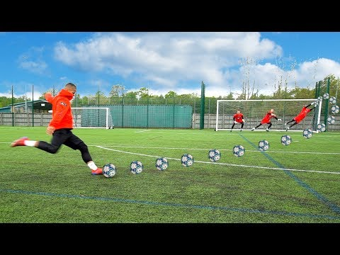 F2 VS F2FC KEEPER | EPIC SHOOTING BATTLE