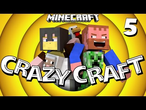 Minecraft Mods ★ ENDER KNIGHT BATTLE ★ CrazyCraft [5]