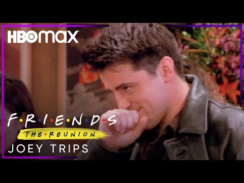 Friends: The Reunion   Joey Trips   HBO Max
