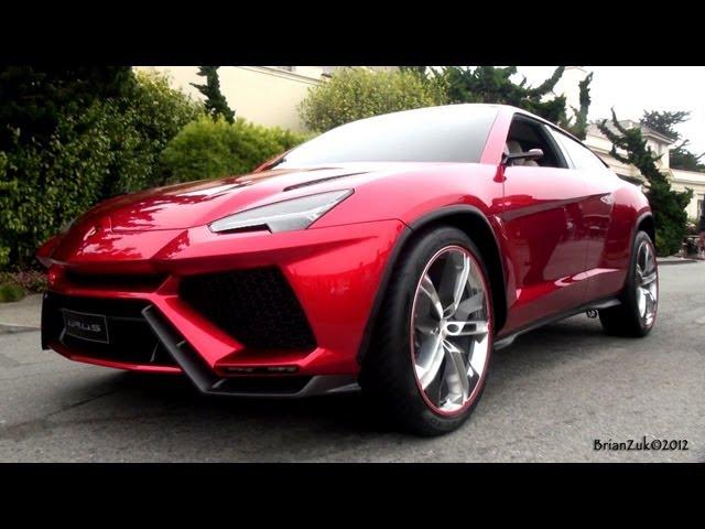 Lamborghini Urus On The Road