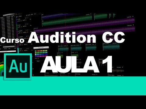 Curso adobe Audition CC - Aula 1 Configurações iniciais e principais opções do programa.