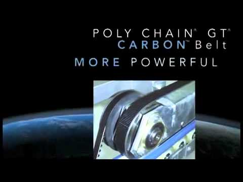 Poly Chain® GT® Carbon™ Belt Out with the Mess, Downtime and Expense