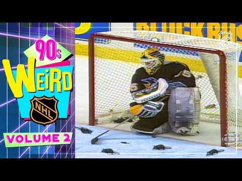 Scattered Rats, Shattered Glass, and more Goalie Gaffes  Weird NHL 3990s Edition Vol. 2
